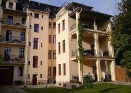 Pension Görlitz: ALBA - Hof