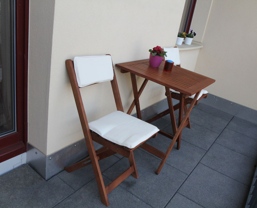 Guesthouse Goerlitz: ALBA - A-M Balcony