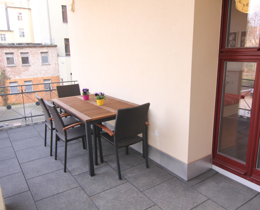Guesthouse Goerlitz: ALBA - A-XL Balcony