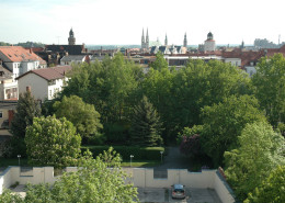 Guesthouse Goerlitz: ALBA - View to old town